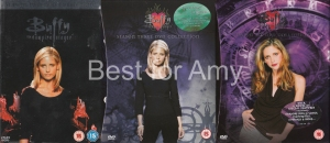 Best seasons to watch for Amy - the Fire Witch - Buffy Seasons Two, Three and Six