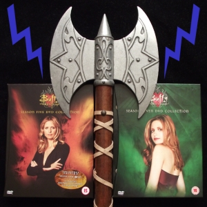 Two Views of Buffy - A Vampire Slayer with an Axe to Grind!