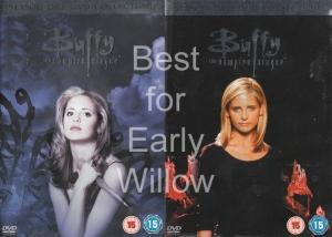 "Best seasons to watch for ""Early Willow"" - the ""Gypsy Witch"" - Buffy Seasons One and Two."